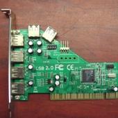 Контроллер PCI USB2.0