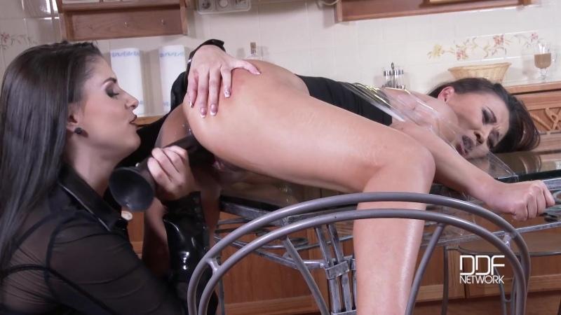 Cristine Akira Lee, Brandy Smile (HouseOfTaboo - DDFNetwork - Spankomania - Lesbian Dominatrix Humiliates Hot Roommate)[1080p -
