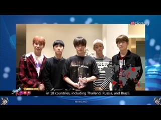 161223 NCT U - The 2016 Best Rising Star @  Simply K-pop