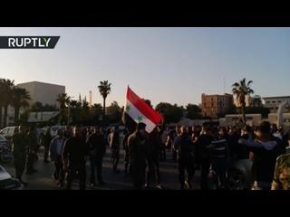 ✔ ОСОБОЕ МНЕНИЕ: Жители Дамаска вышли на улицы, чтобы поддержать Асада ...
