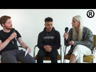 PVRIS Lynn and Brian Talk Album 3 Ideas and Collabs. Interview for Rock Sound