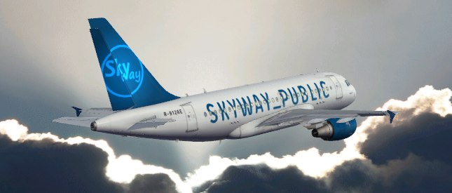 AEROSOFT A318 SKYWAY_PUBLIC LIVERY