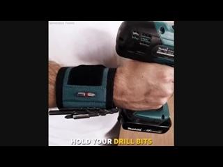 Этот магнитный браслет - ваша третья рука помощи.
