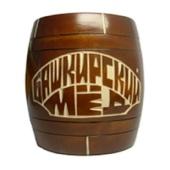 Мед «Бочонок деревянный» 0,5 кг.