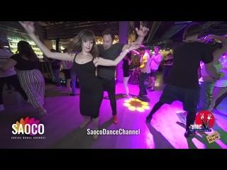 Patrick Steindl и Ольга Ездакова танцуют сальсу на 3 Front Relax