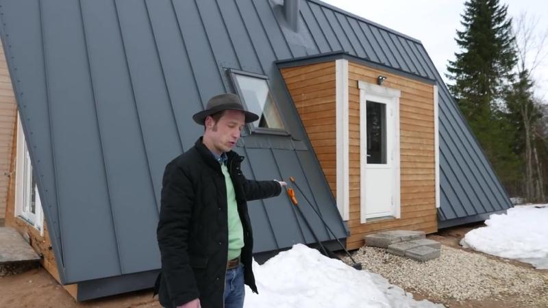 Дом-шалаш под ключ__Каркасный дом-шалаш своими руками из домокомплекта__A-frame