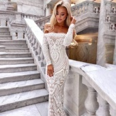 "Вечернее платье ""Aisha White"""