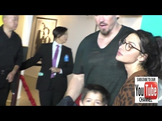Steve Howey and Sarah Shahi at the Premiere Of CBS Films Middle School The Wors (2016)