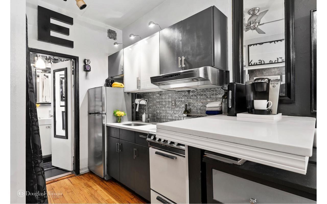 Оригинальная квартира-студия 36 м в Нью-Йорке.