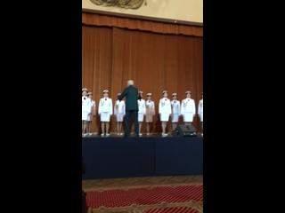 Показательный концерт женской хоровой группы Ансамбля имени А.В. Александрова (г. Москва, УМС)