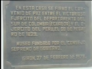 La Gran Colombia Vs. Peru (batalla de Tarqui, Simon Bolivar)