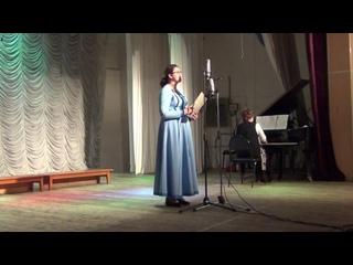 """""""16 лет"""" (А. Даргомыжский) Ангелина Дудинкова, академический хор РЦК"""