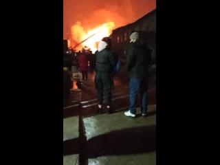 Усинск. Пожар на Лесной.