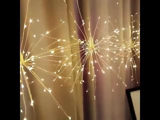 Рождественская гирлянда фейерверк Сказочный светильник s 4 м