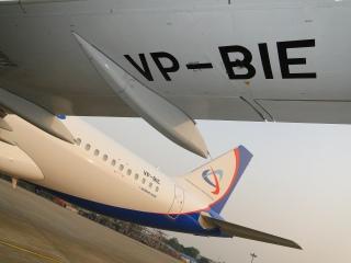 История Airbus A32* Уральских авиалиний