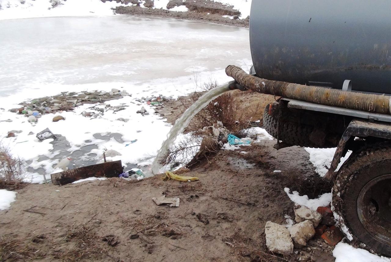 Администрация Петровского района просит очевидцев фактов слива нечистот в несанкционированных местах фиксировать нарушения на фото или видео