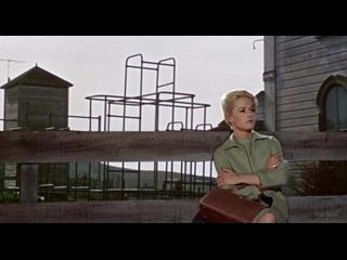 The Birds (1963) dir. Alfred Hitchcock / Птицы (1963) Режиссер: Альфред Хичкок