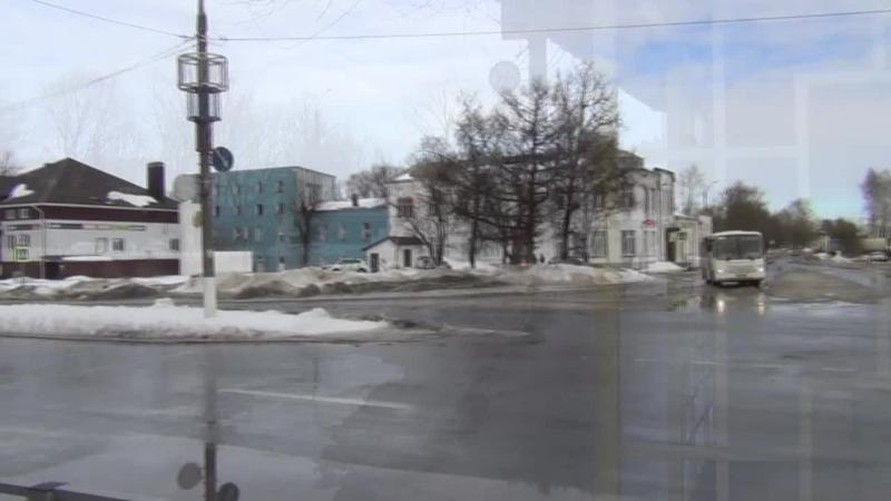 3.03.2021 г. Собинка Владимирская. Зима или весна в городе (ПВА).
