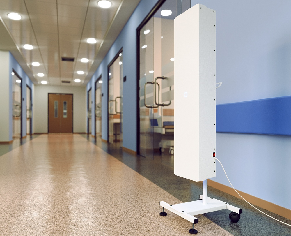 Рециркулятор для обеззараживания воздуха в школе