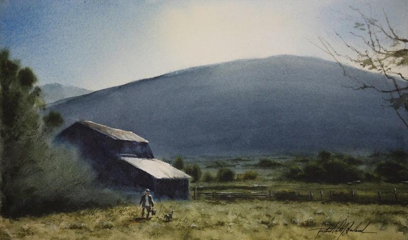 Американский художник-акварелист. Robert McFarland, изображение №35