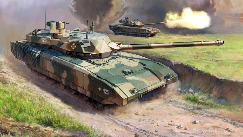 Binkov Battlregrounds (Хорватия): российский танк Т-14 «Армата» будет господствовать на полях сражений?, изображение №1
