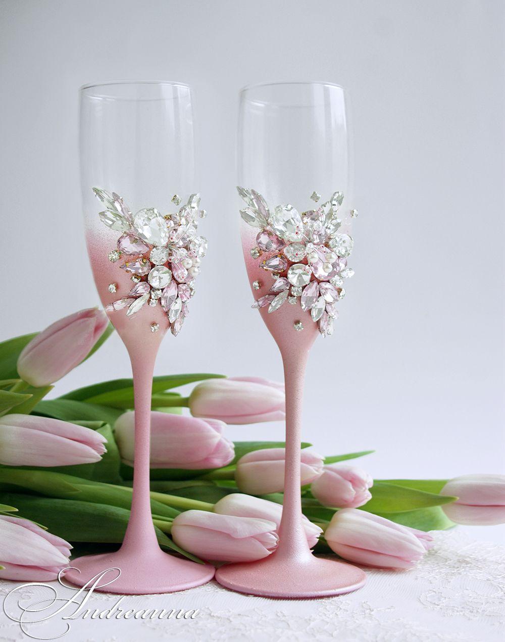 TSGStRFDOIY - Красивые свадебные фужеры
