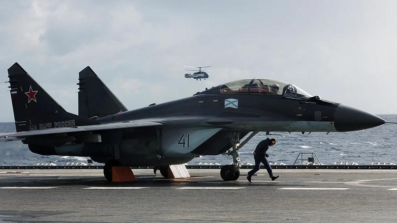 Российским истребителям МиГ-29К придется столкнуться с серьезными испытаниями во...