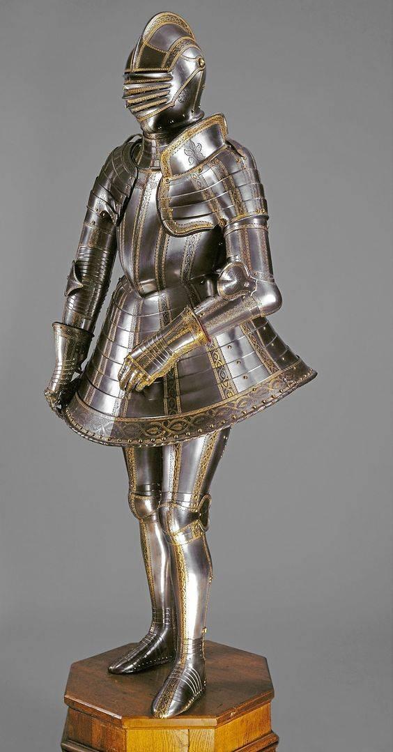 Доспехи для пешего турнира императора Максимилиана II, сына Фердинанда I, 1571 г.