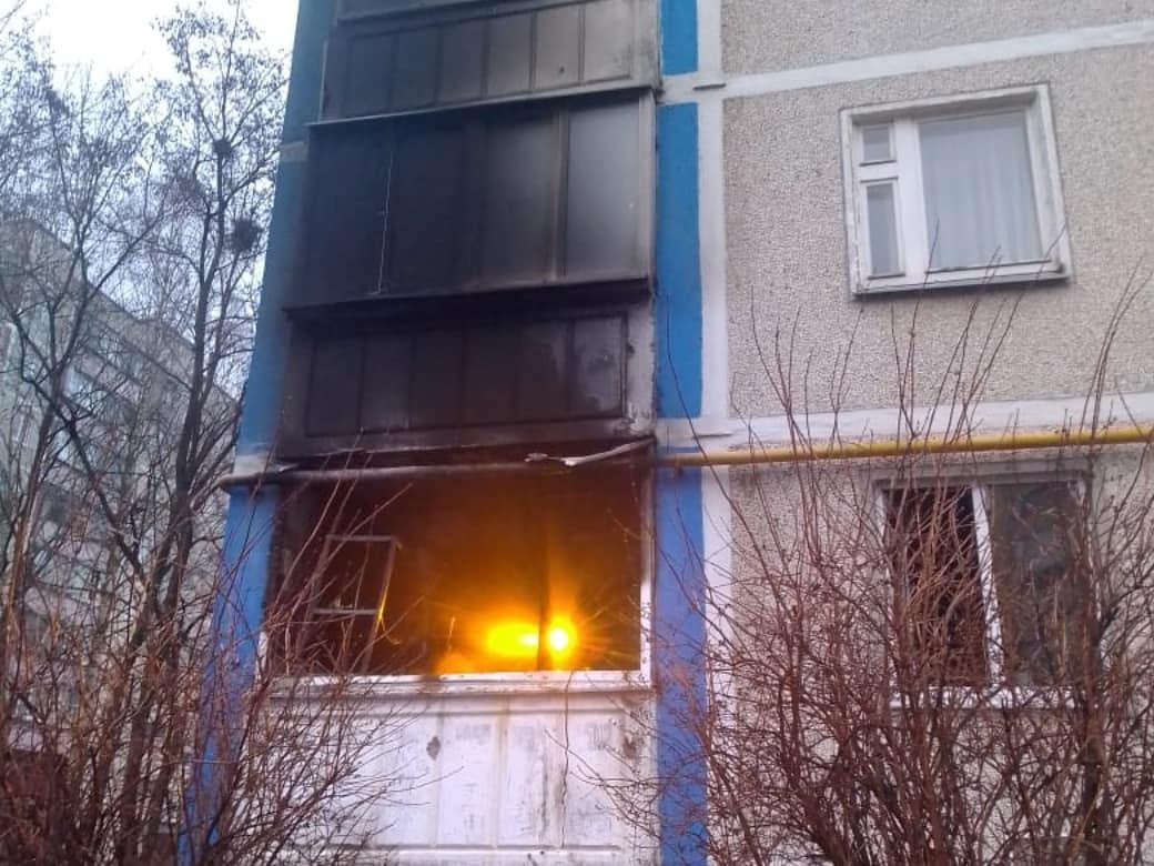 Курские огнеборцы спасли из горящей многоэтажки 16 человек
