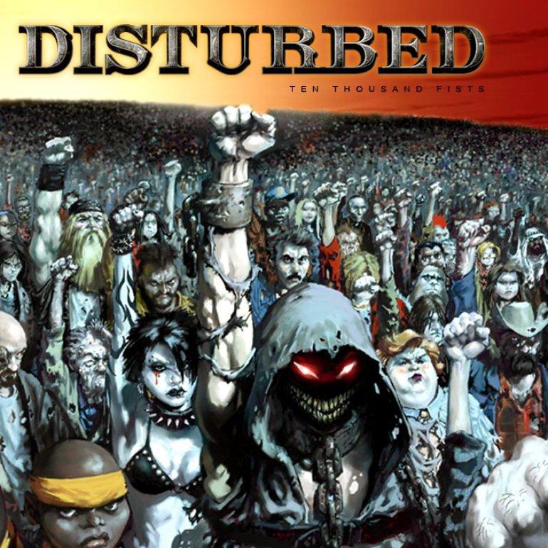 Disturbed album Ten Thousand Fists (Standard Edition)