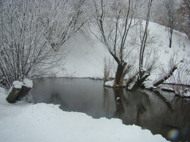 Фото сделано однажды зимой
