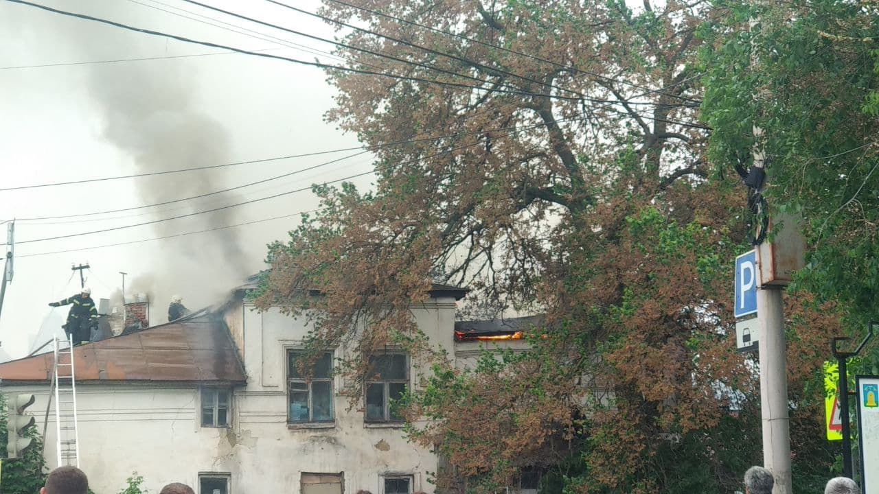 В Тамбове загорелась усадьба инженера Сверчевского