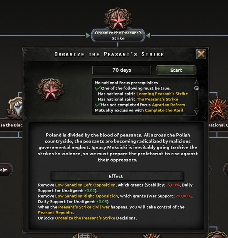 Дневник разработчиков Hearts of Iron IV — Изменение древа фокусов Польши, часть 2, изображение №2