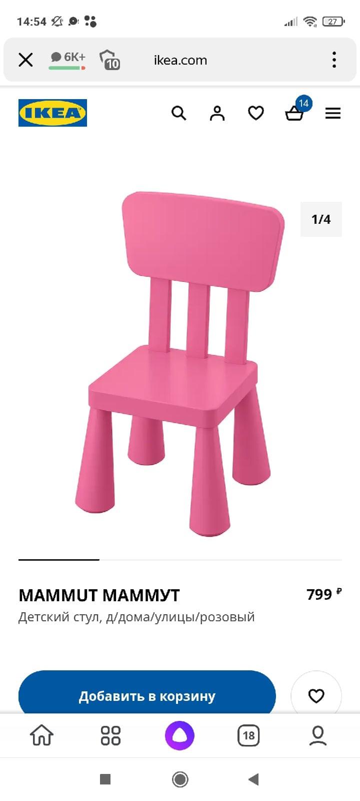 Всем приветПодскажите пожалуйста у кого нибудь есть такая мебель детская из Икея.