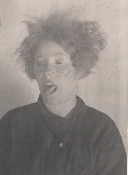 Артистка Татьяна Шикина в роли Тишки, спектакль «Свои люди — сочтемся», 1938 г.
