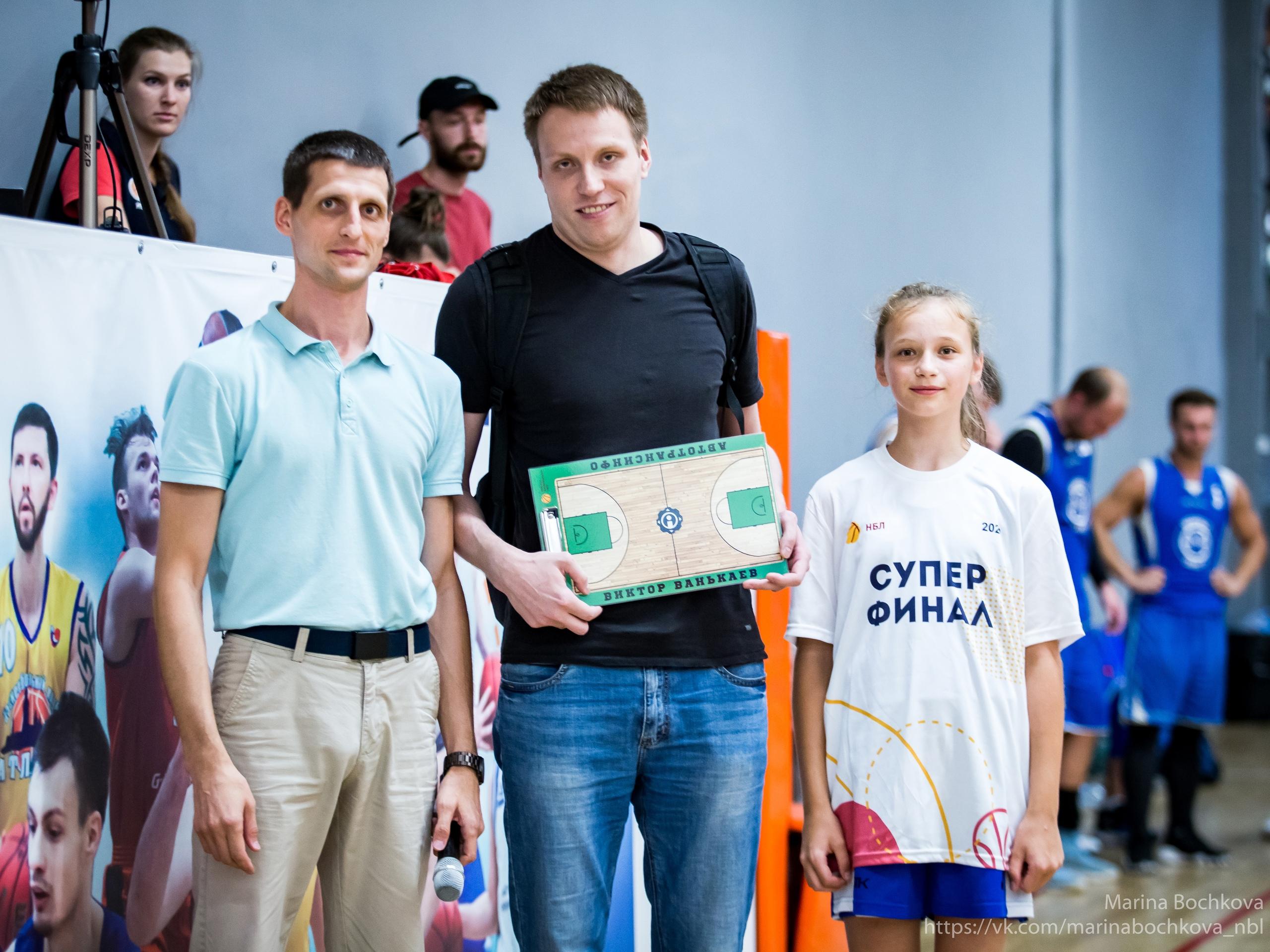 Виктор Ванькаев – Лучший тренер НБЛ сезона 2019-2020
