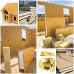 СИП панели комплекты сип панелей для строительства домов от 900 рублей м2