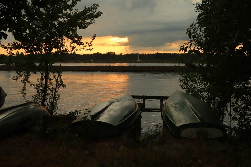 Шлиссельбург. Вид на Новоладожский канал и реку Неву