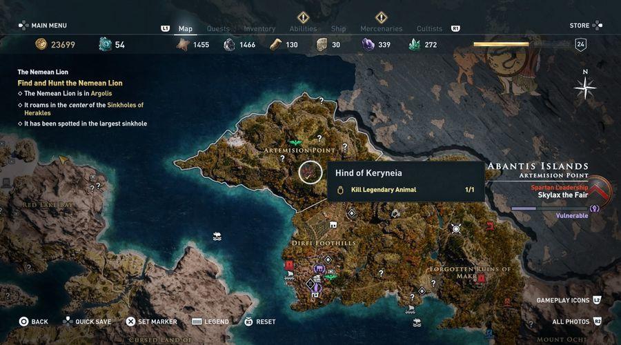 Assassin's Creed Odyssey скриншот