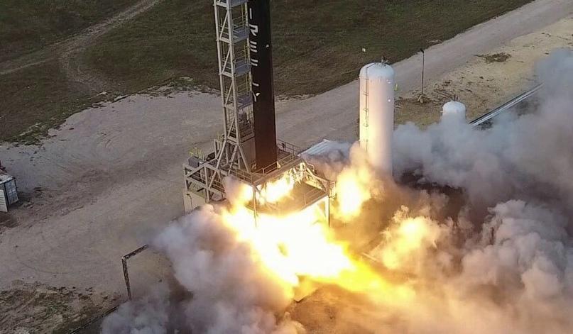 Firefly Aerospace, одна из космических компаний Noosphere, планирует свой первый орбитальный запуск в конце этого года (фото Firefly Aerospace)