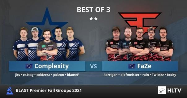 Complexity и FaZe сражаются за BLAST Premier Fall ...
