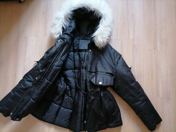 Продам зимнюю куртку, размер  42-44Брала за 4000р,...