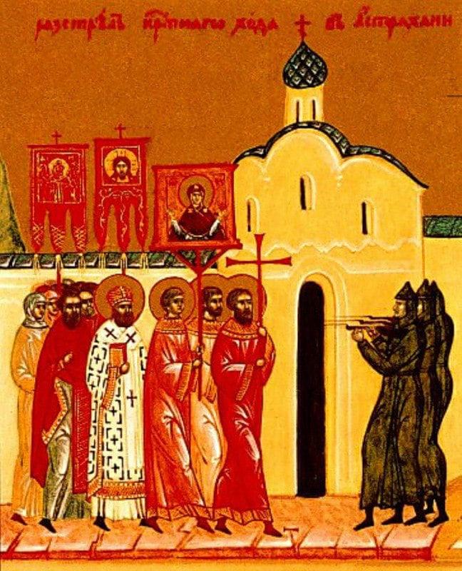 Сведения о злодеяниях большевиков в отношении Церкви и ее служителей в Ставропольской епархии