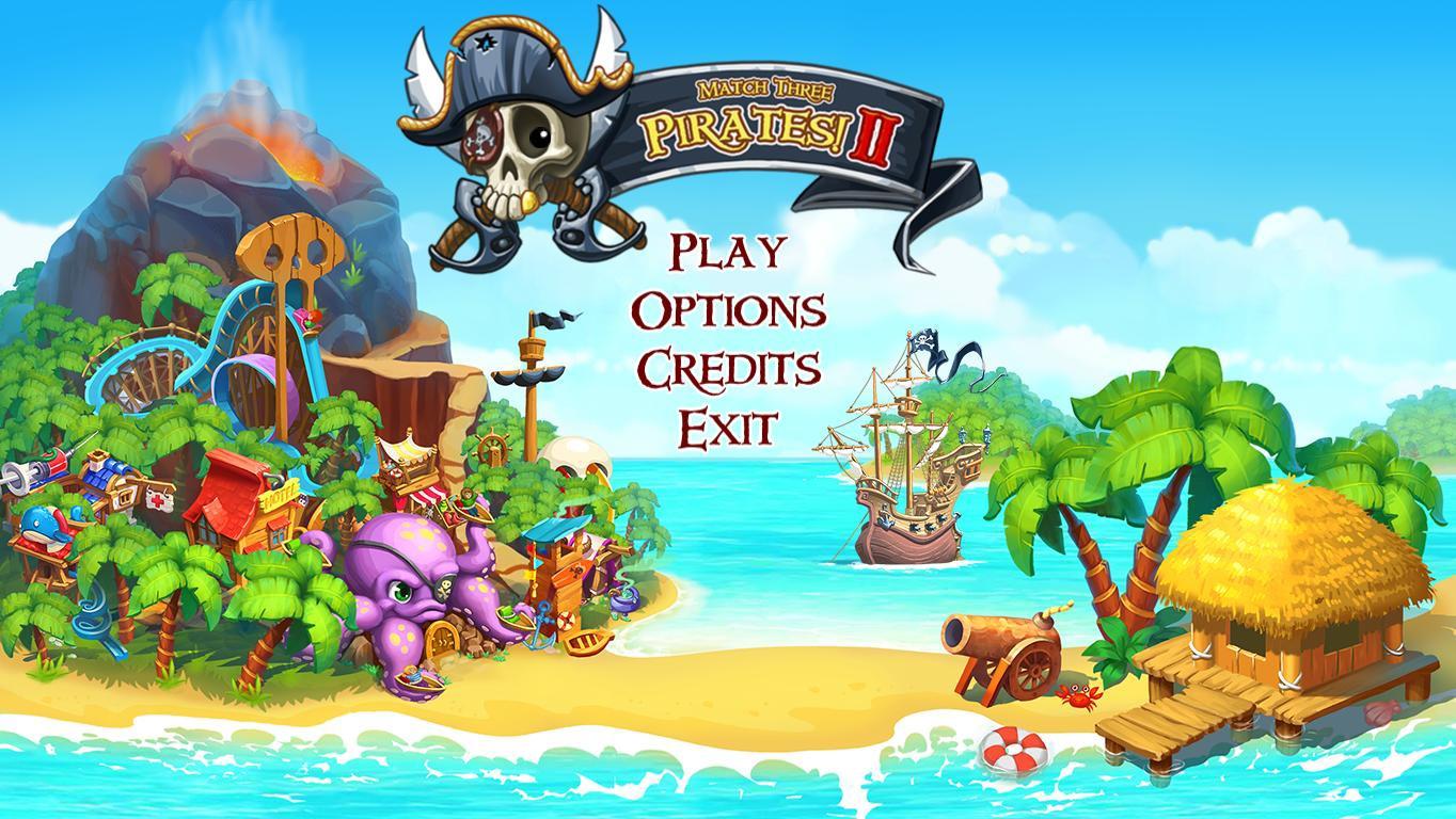 Три в ряд. Пираты! 2 | Match Three Pirates! 2 (En)