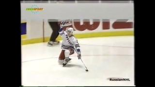 Alex Kovalev scores vs Leafs after Mike Richter saves Rangers (1994)