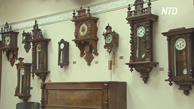 Музей часов в Ангарске накопил более 2000 экспонатов