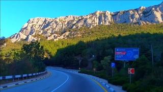 🔥Ялта- Севастополь красивая трасса с видами на горы и море Крым 2020.
