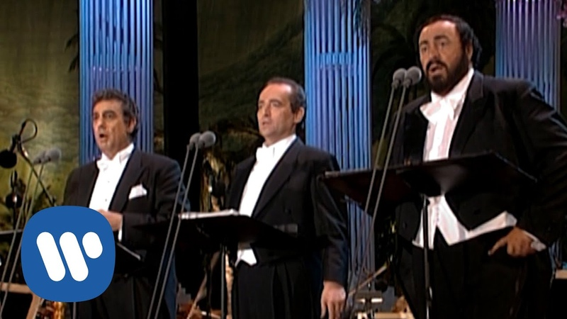 The Three Tenors in Concert 1994 Brindisi Libiamo ne' lieti calici from La Traviata