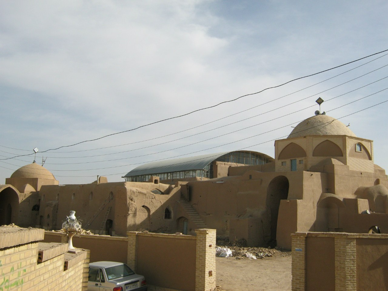 Old mosque at Meybod, Iran