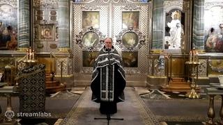 2021-03-28 Проповедь о. Георгия Кобрина на пассии в Казанском соборе